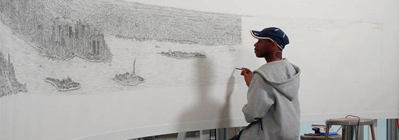 Stephen Wiltshire - New York